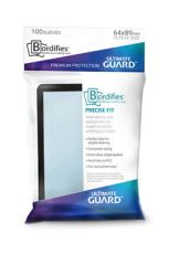 Ultimate Guard Bordifies Precise-Fit Sleeves Standard Velikost Black (100)