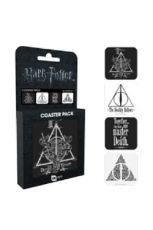 Harry Potter Podtácky 4-pack Deathly