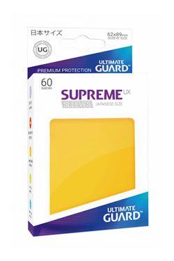 Ultimate Guard Supreme UX Sleeves Japanese Velikost Yellow (60)