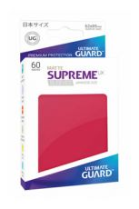 Ultimate Guard Supreme UX Sleeves Japanese Velikost Matte Red (60)