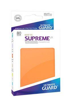 Ultimate Guard Supreme UX Sleeves Standard Velikost Matte Orange (80)