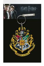 Harry Potter Gumový Keychain Bradavice Crest 7 cm
