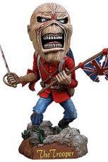 Iron Maiden Head Knocker Bobble-Head Eddie The Trooper 18 cm