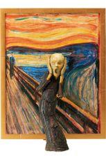 The Table Museum Figma Akční Figure The Scream 14 cm