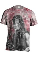 Walking Dead Sublimation Tričko Daryl Blood Stain Velikost L