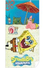 SpongeBob SquarePants Ručník Beach 140 x 70 cm