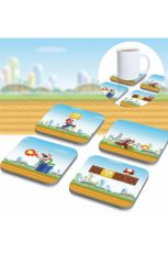 Super Mario 3D Podtácky 8-Pack
