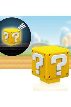Super Mario Nightlight with Sound Question Block 8 cm