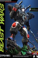 Transformers Beast Wars 1/3 Sochy Optimus Primal & Optimus Primal Exclusive 63 cm Sada (3)