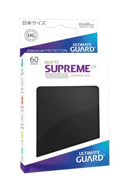 Ultimate Guard Supreme UX Sleeves Japanese Velikost Matte Black (60)
