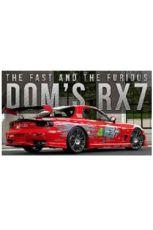 Fast & Furious Kov. Model 1/24 Dom's 1995 Mazda RX-7
