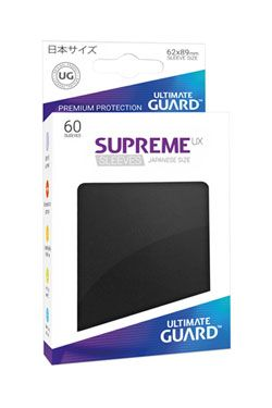 Ultimate Guard Supreme UX Sleeves Japanese Velikost Black (60)