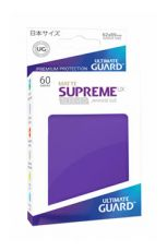 Ultimate Guard Supreme UX Sleeves Japanese Velikost Matte Purple (60)