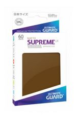 Ultimate Guard Supreme UX Sleeves Japanese Velikost Matte Brown (60)
