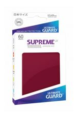 Ultimate Guard Supreme UX Sleeves Japanese Velikost Burgundy (60)