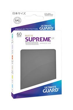 Ultimate Guard Supreme UX Sleeves Japanese Velikost Matte Dark Grey (60)