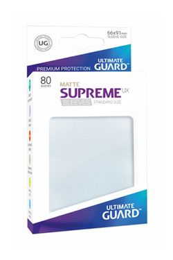 Ultimate Guard Supreme UX Sleeves Standard Velikost Matte Frosted (80)