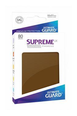 Ultimate Guard Supreme UX Sleeves Standard Velikost Brown (80)