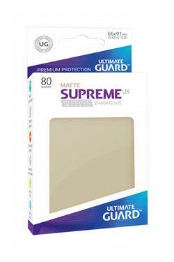 Ultimate Guard Supreme UX Sleeves Standard Velikost Matte Sand (80)