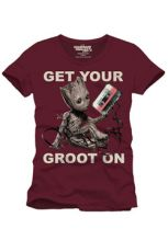 Guardians of the Galaxy 2 Tričko Get Your Groot On Velikost L