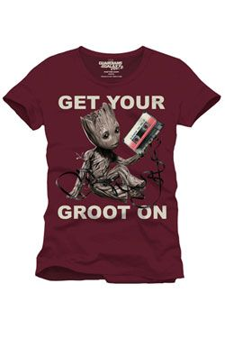961c48946e41 Guardians of the Galaxy 2 Tričko Get Your Groot On Velikost S Cotton  Division