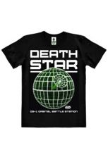Star Wars Rogue One Easy Fit Organic Tričko Death Star Velikost XL