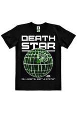 Star Wars Rogue One Easy Fit Organic Tričko Death Star Velikost XL