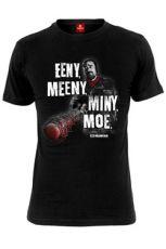 Walking Dead Tričko Eeny Meeny Miny Moe Velikost M