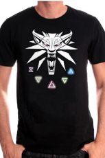 Witcher Tričko Witcher III Velikost XL