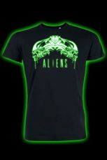 Alien Tričko Tribal Glow In The Dark Velikost XL