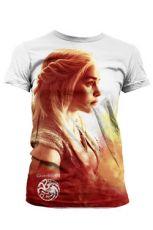 Game of Thrones Dámské Sublimation Tričko Daenerys Heatwave  Velikost S