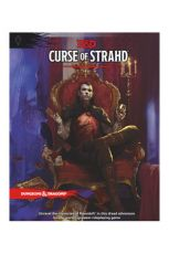 Dungeons & Dragons RPG Adventure Curse of Strahd Anglická