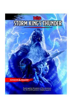 Dungeons & Dragons RPG Adventure Storm King's Thunder Anglická Wizards of the Coast