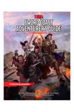 Dungeons & Dragons RPG Sword Coast Adventurer's Guide Anglická