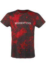 Resident Evil Sublimation Tričko Logo Velikost M