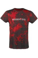 Resident Evil Sublimation Tričko Logo Velikost XL