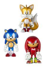 Sonic Boom Akční Figures 3-Pack Classic 8 cm