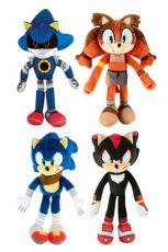 Sonic Boom Plyšák Figures 20 cm Sada (6)