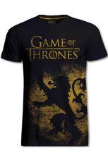 Game of Thrones Tričko Lannister Jumbo Print Velikost XL