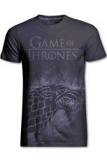 Game of Thrones Tričko Stark Jumbo Print Velikost XL