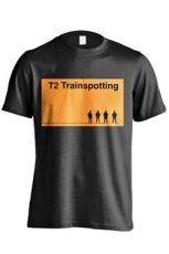 T2 Trainspotting Tričko Logo Velikost M