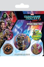 Guardians of the Galaxy Vol. 2 Pin Placky 5-Pack Rocket & Groot