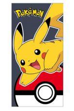 Pokemon Ručník Pikachu & Pokeball 140 x 70 cm