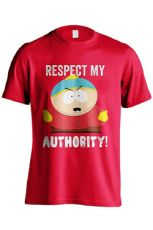 South Park Tričko Respect My Authority Velikost XL