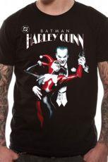 Batman Tričko Joker & Harley Quinn Velikost XXL