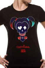 Suicide Squad Dámské Tričko Harley Quinn Black Velikost XL
