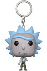 Rick and Morty Pocket POP! vinylová Keychain Rick 4 cm