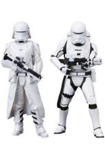 Star Wars Episode VII ARTFX+ Soška 2-Pack First Order Snowtrooper & Flametrooper 18 cm