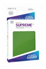 Ultimate Guard Supreme UX Sleeves Japanese Velikost Matte Green (60)