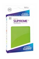 Ultimate Guard Supreme UX Sleeves Standard Velikost Matte Light Green (80)